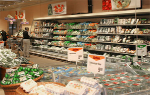 Supermarket Migros Switzerland